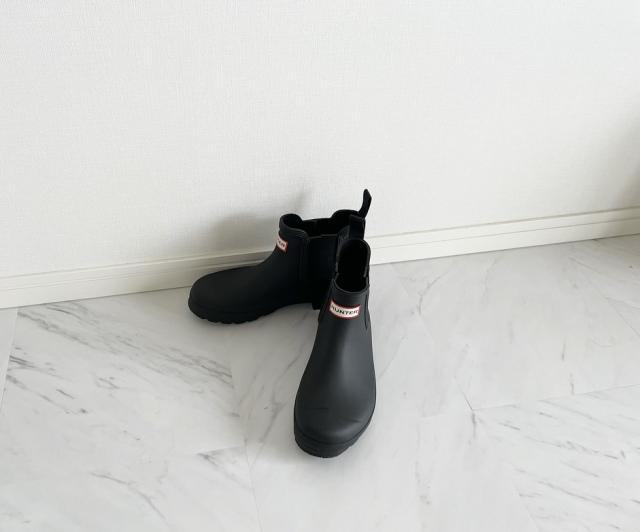 2021梅雨支度  老舗『HUNTER』のチェルシーブーツ【40代 私のクローゼット】_1_6
