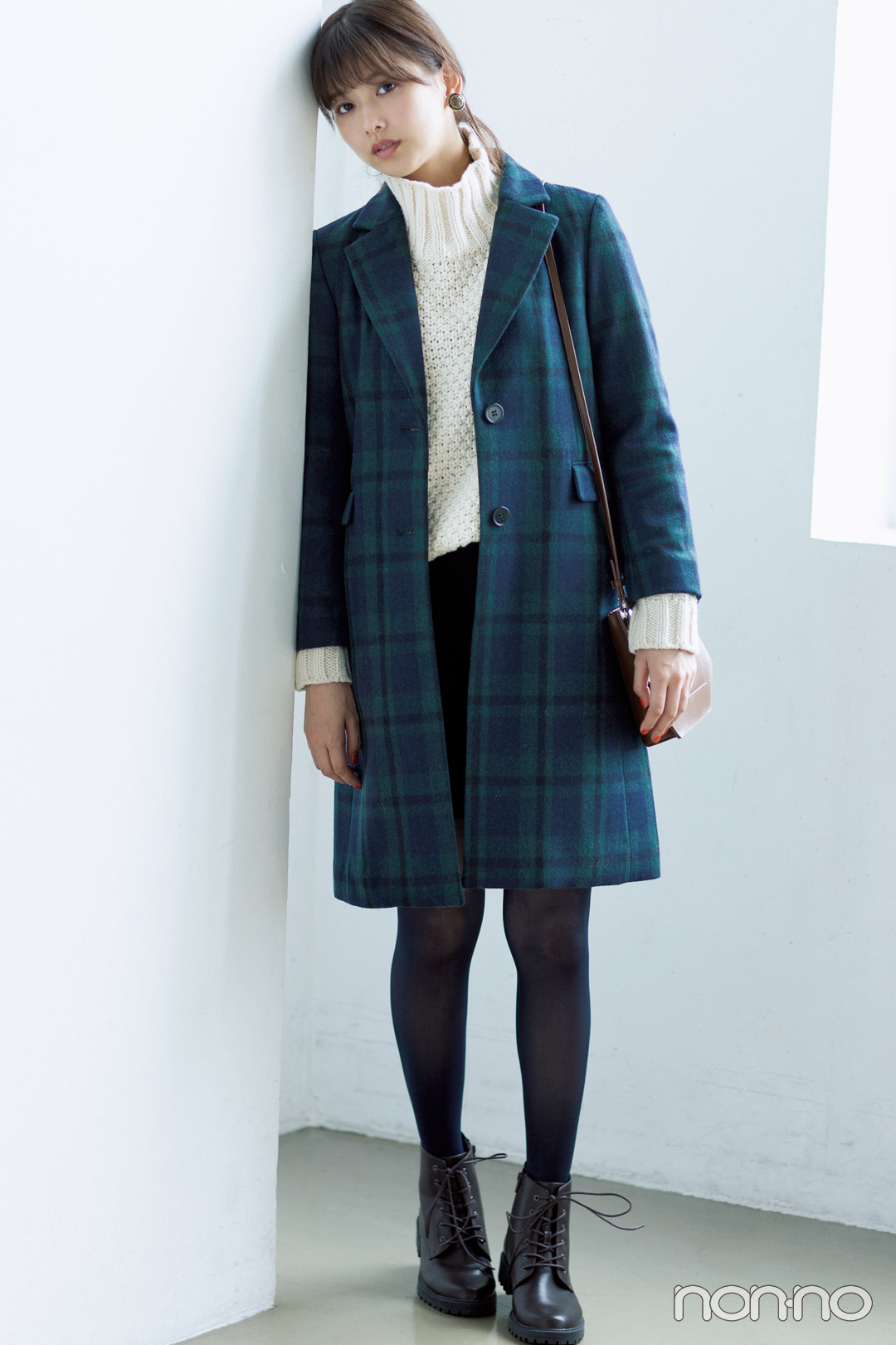 渡邉理佐のカジュアルアウターナビ★ チェックのチェスターコート3選! _1_3