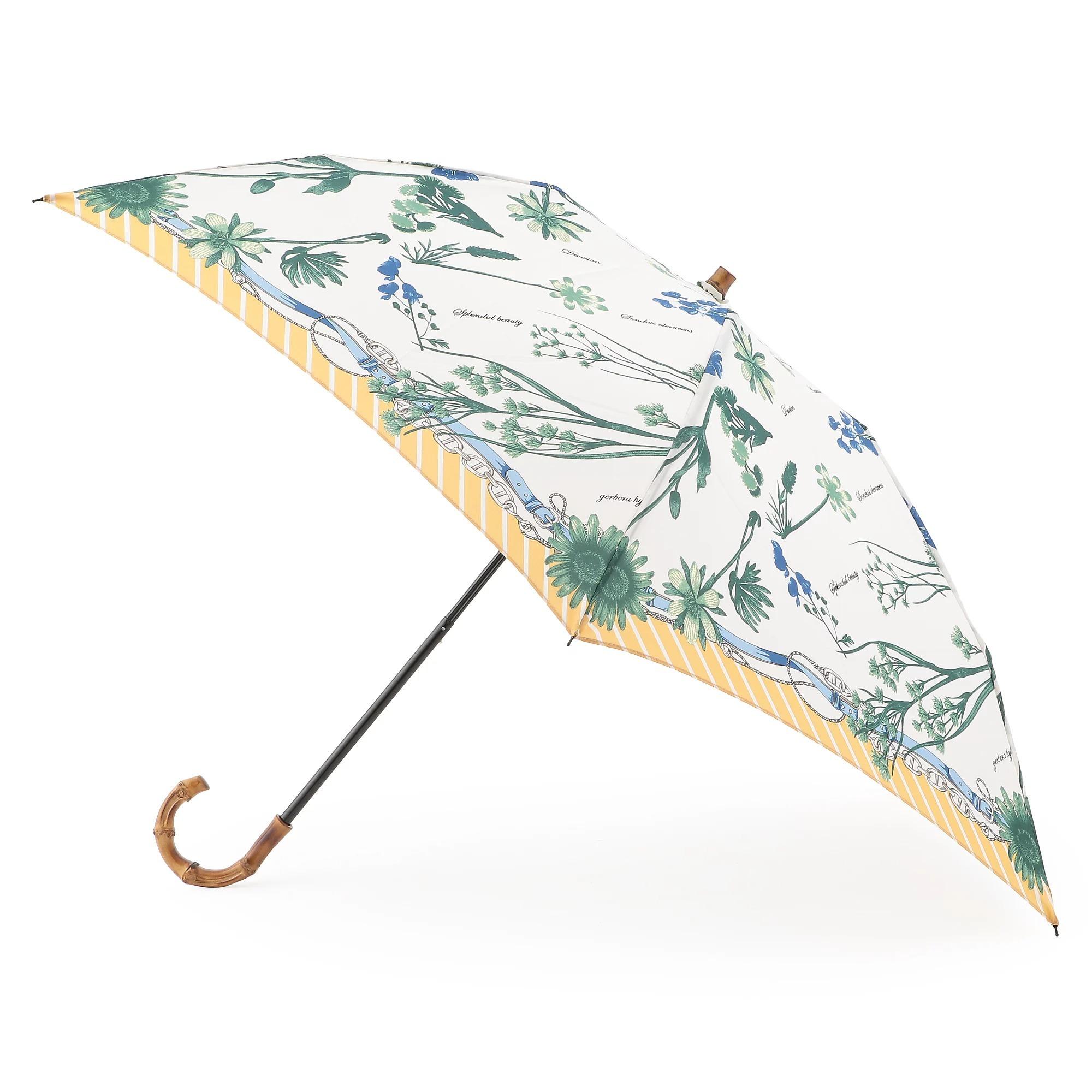 manipuri 晴雨兼用折り畳み傘(フルール) ¥15,400