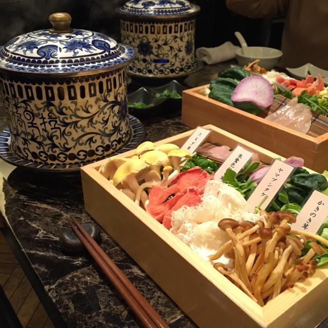 【レストラン】きのこ鍋/Shangri-La's secret_1_1