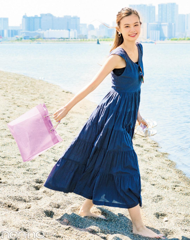 海デートで映える夏バッグ♡ 濡れてもOKのクリア素材8選!_1_1
