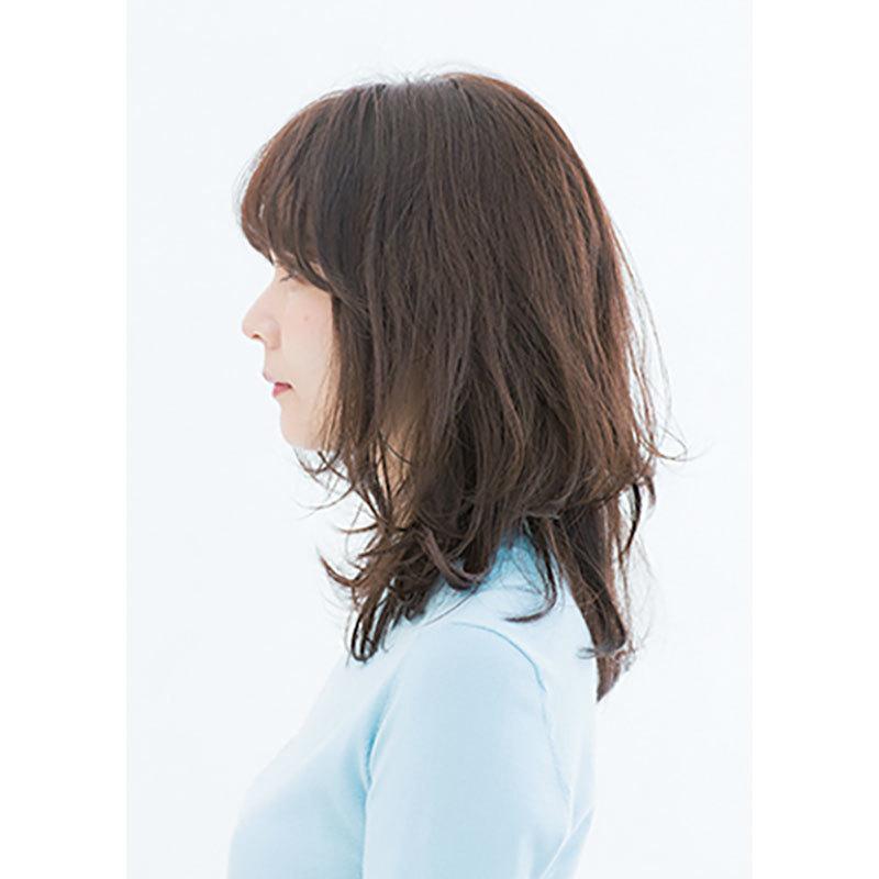 横から見た人気ランキング6位のヘアスタイル