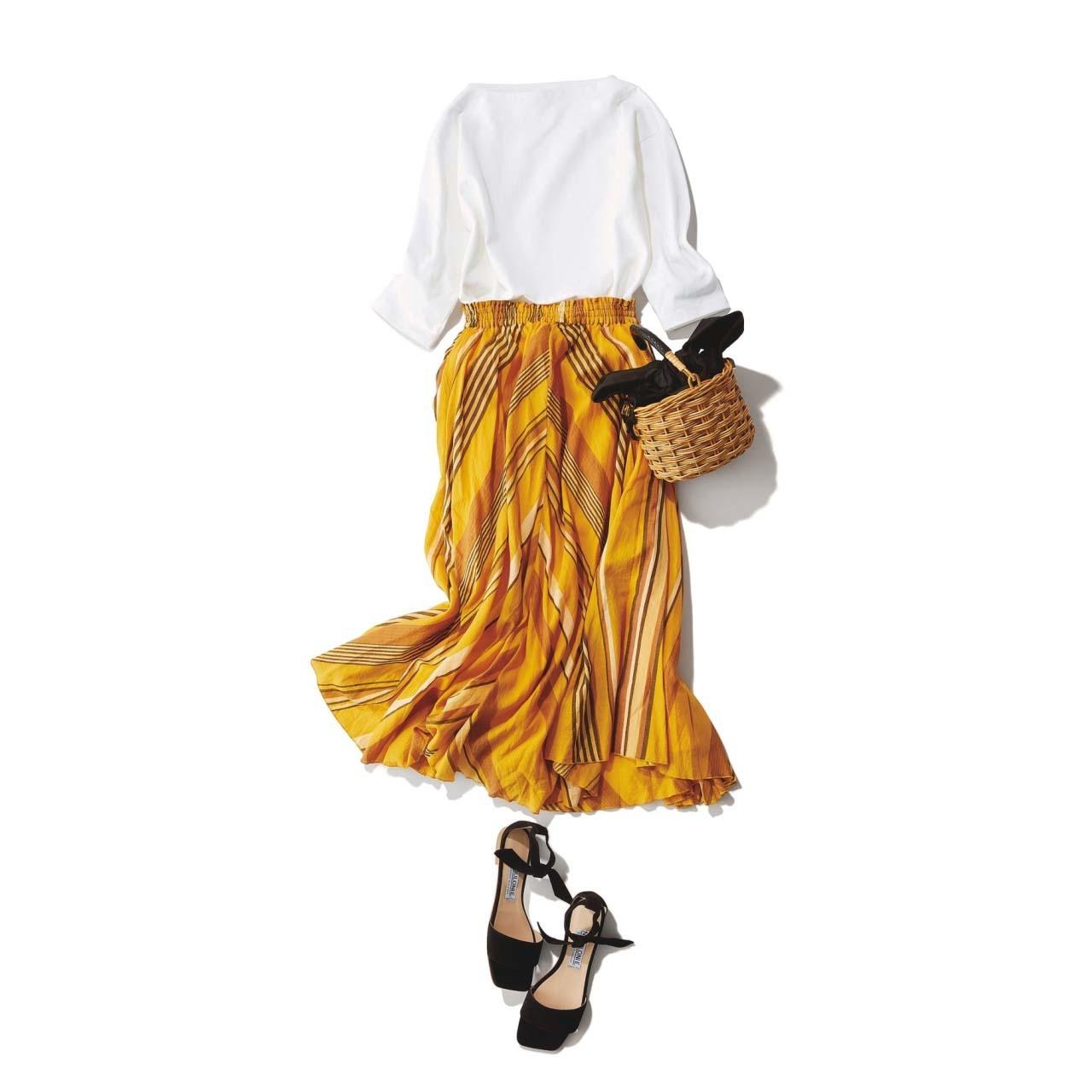 春こそ満喫!アラフォー向け着映えスカート6タイプ|40代レディースファッション_1_19
