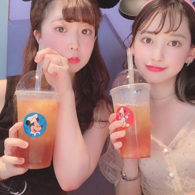 【 TokyoDisneyland 】時間限定 の タピオカ !?_1_3-5