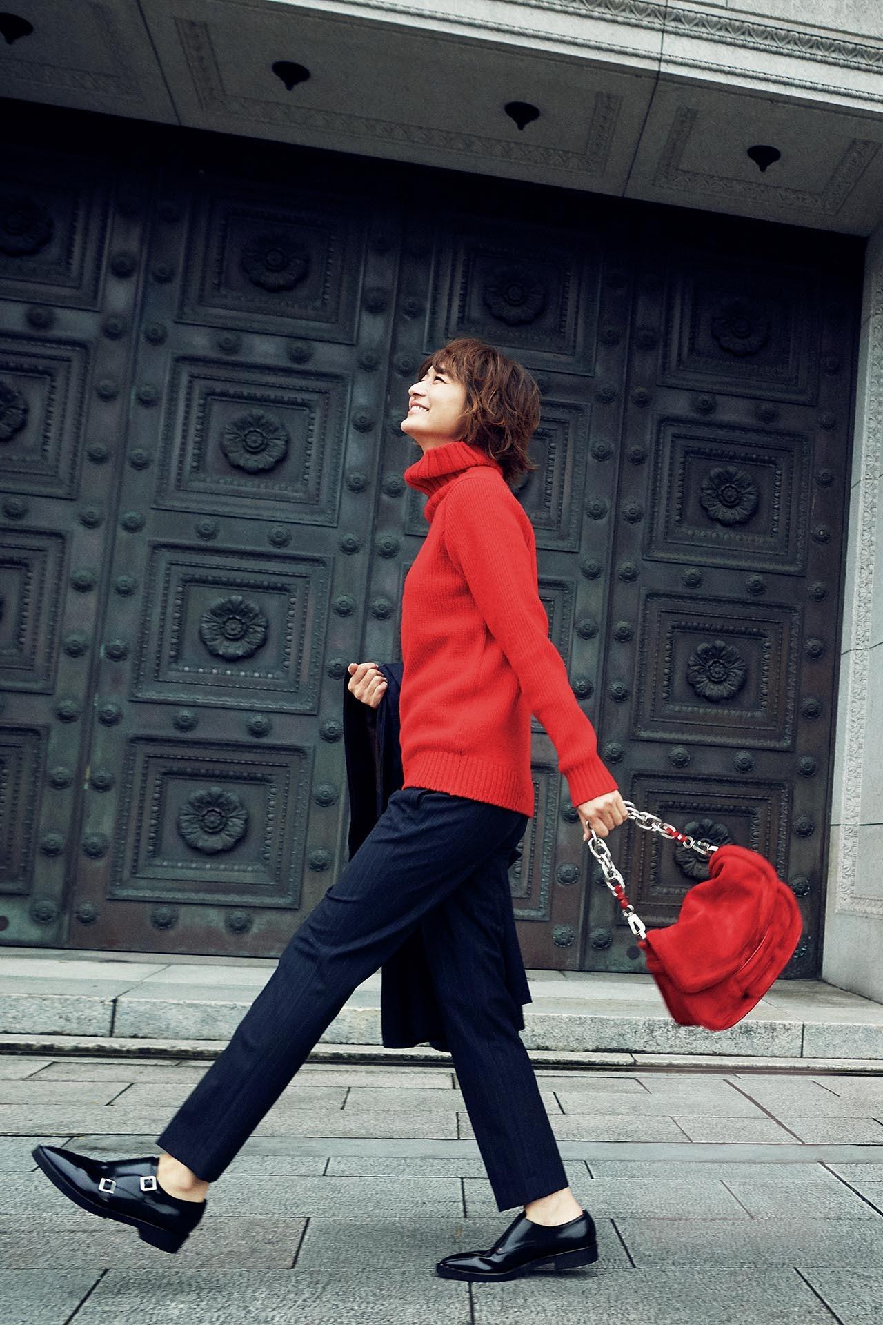 大人を元気に見せてくれる色、「赤」をまとって冬の街へ出かけよう! 五選_1_1-1