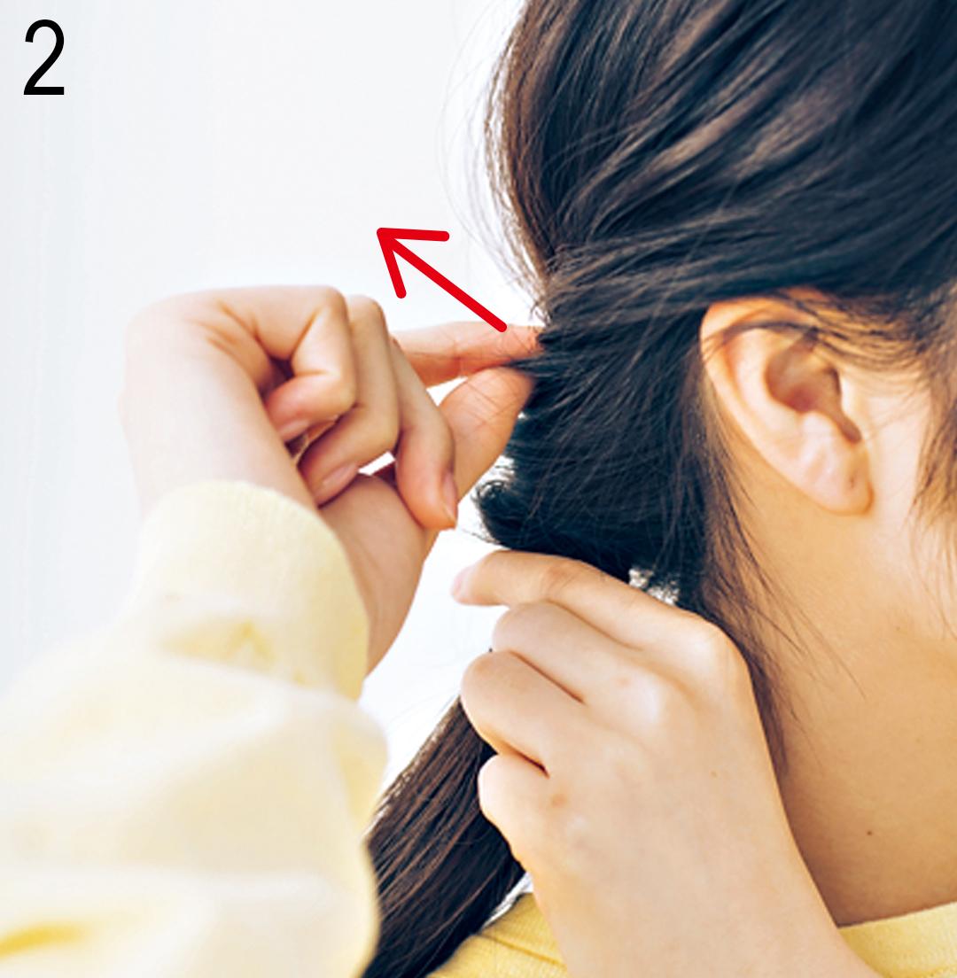 塾講師バイトOKのヘアアレンジ、キリっと見えつつ親しみやすいのはコレ!_1_3-2