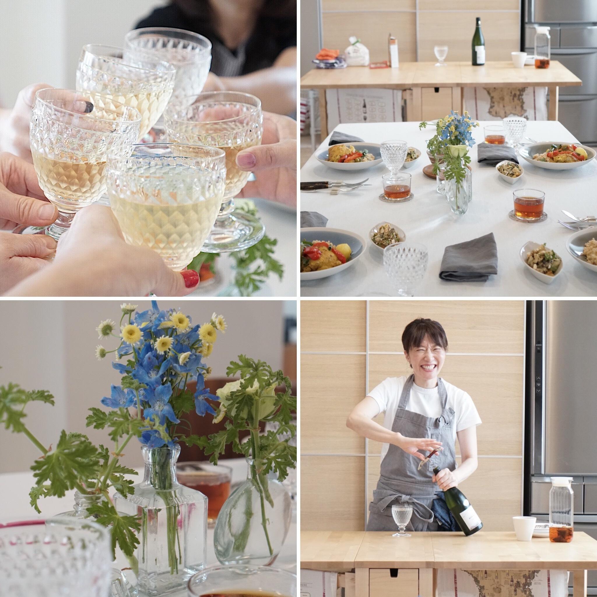 料理研究家・島田まきさんのお料理教室へ_1_3