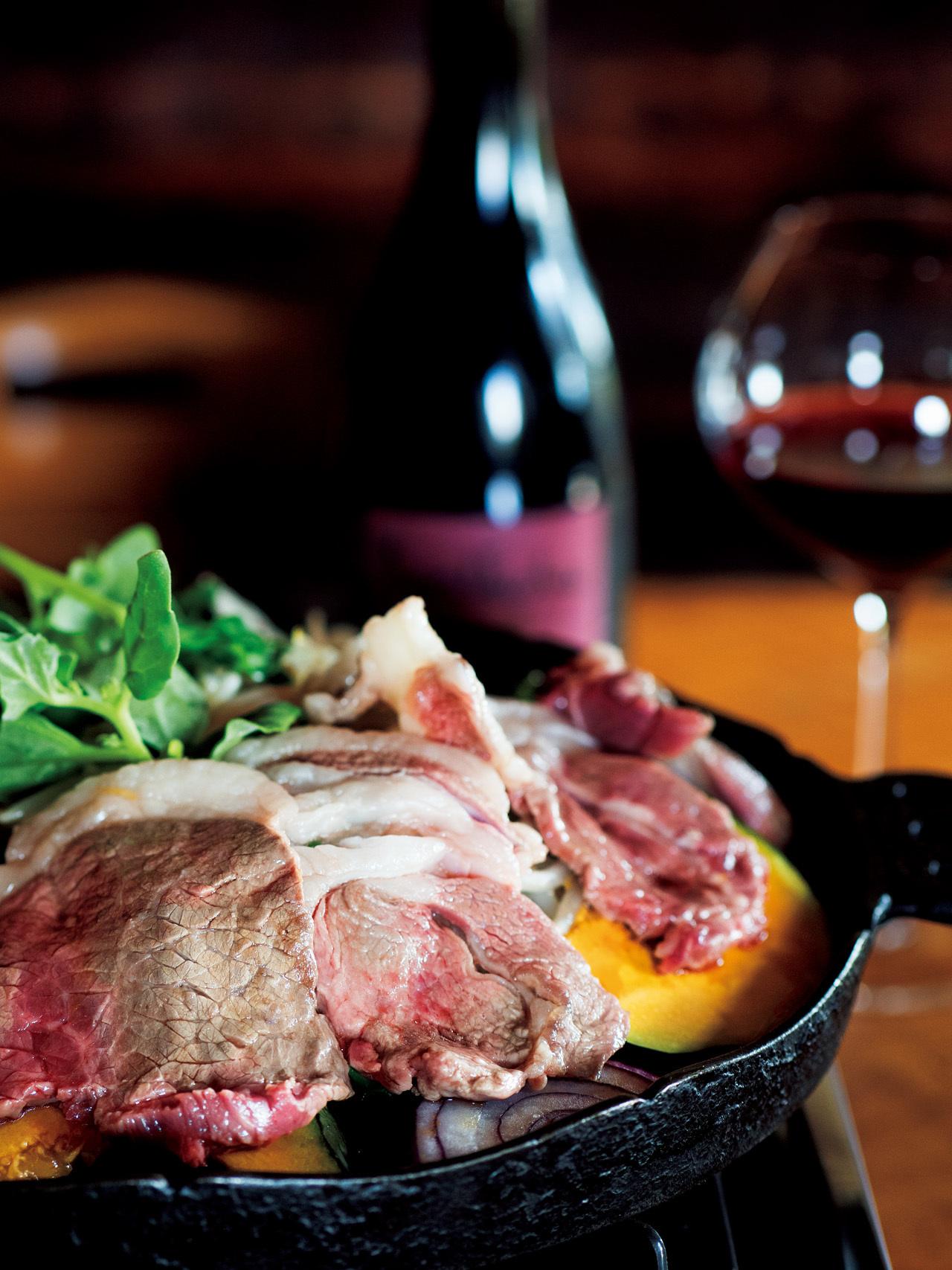 自家栽培の飼料で育てる 羊肉をワインとともに ひつじや_1_1