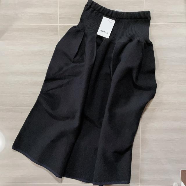 MACHATTのホールガーメントフォルムスカート