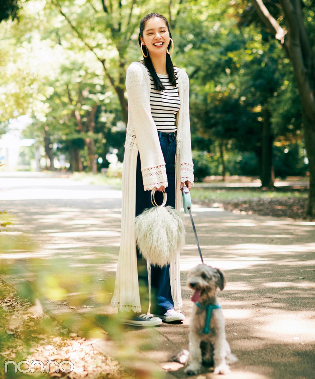 【ブルースニーカーコーデ】新川優愛は、休日にぴったりな爽やか可愛いスニーカーコーデ♡