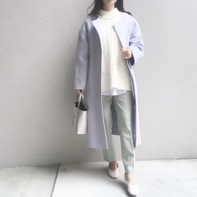 #ユニクロ 穿く度に良さを実感するパンツで春のきれい色コーデ_1_4
