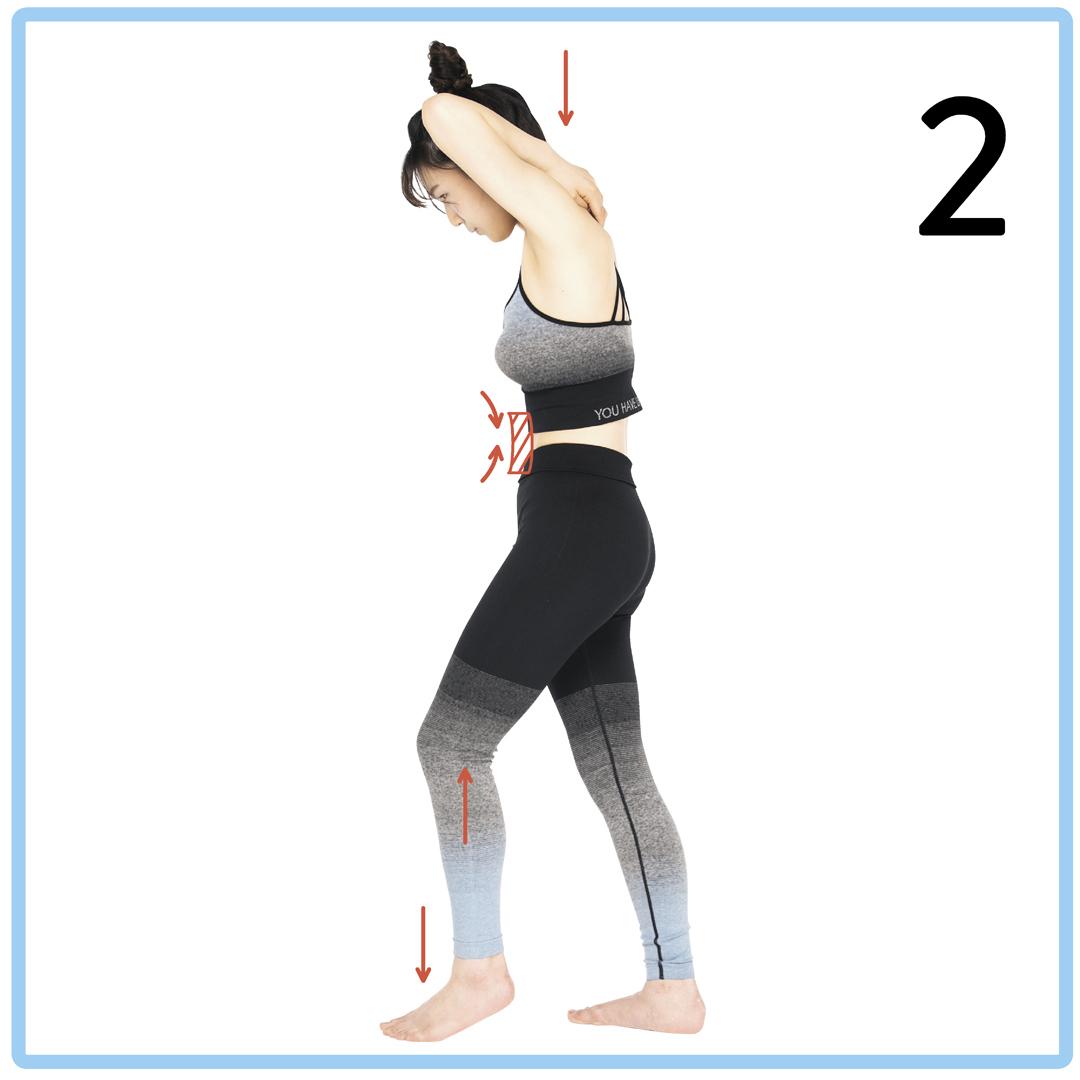 腹筋女子の2週間プログラム★1日5秒の筋トレでくびれ&タテ線をGET!_1_7-3
