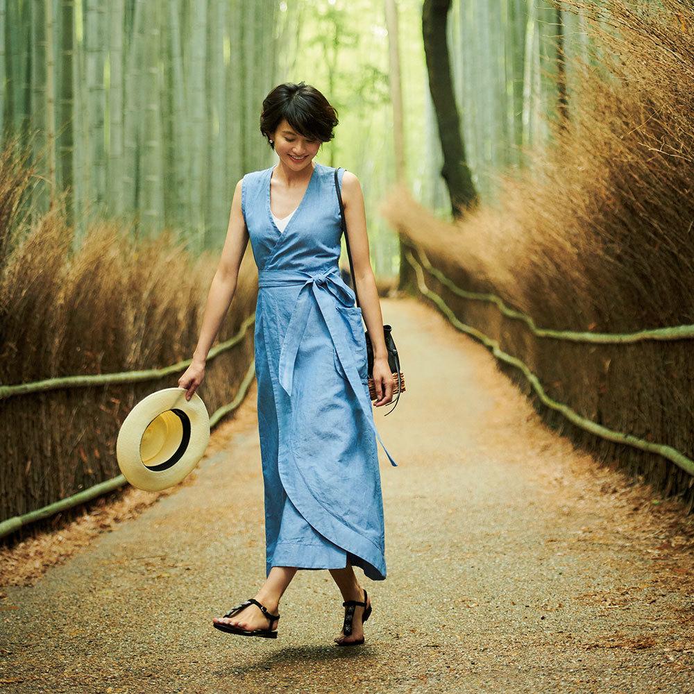 モデル渡辺佳子さん旅ワードローブを拝見!3泊4日星のや京都へ【おしゃれプロの旅支度】_1_1-4