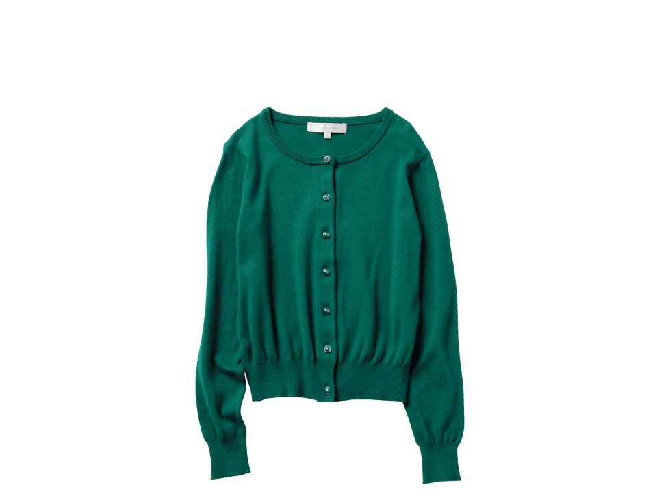 新木優子は、グリーンのスカートで秋コーデにシフト!_1_2-1