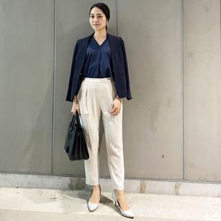 春靴×ジャケットで着回す。女っぷり通勤スタイル