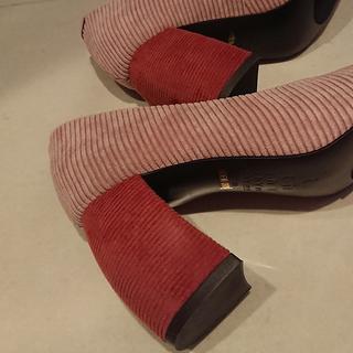 足元の秋支度。~thYmeの靴でパープルを~