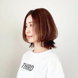 春夏最新!アラフォーくびれボブスタイル【tomomiyuヘア】