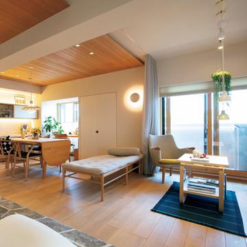 新築マンションを五感に心地いい自然素材の家に【これからの私にフィットする住まい】