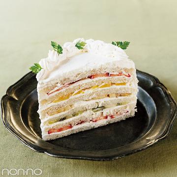 バレンタイン2018♡ 簡単レシピでSNS映え! ホワイトチョコのフルーツサンドケーキ