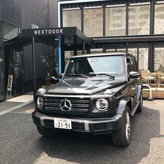 マロニエゲート銀座2にグランドオープンした「 Mercedes me GINZA the limited store」へ行ってきました!