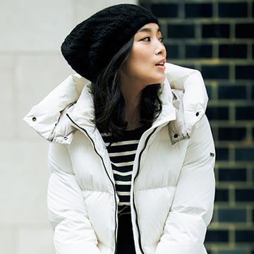 【Day20】厚手の細パンツからラメソックスをちら見せして、冬の街散歩へ!【冬の洗練パンツ30days】