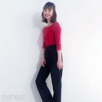 鈴木友菜はGUの「神デニム」で大人っぽくスタイルアップ【毎日コーデ】