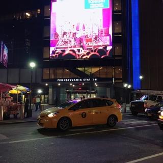 ニューヨークにて。