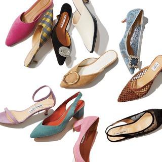 2020年春夏・女っぷりを上げるトレンド靴のまとめ|40代 ファッション