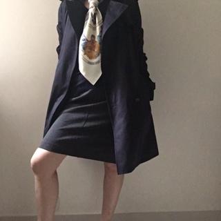 オフィスコーデにスカーフで働く女っぷり足し!_1_2-3