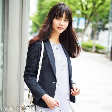 新川優愛が着る! 社会人1~2年目のジャケット、大人可愛いコーデ見本帳