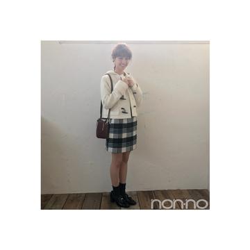 西野七瀬はショートダッフルで男女両モテ♡コーデ【毎日コーデ】