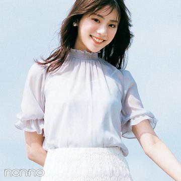 上品可愛い代表・貴島明日香のきれいめフェミニンな夏コーデ<完全版>