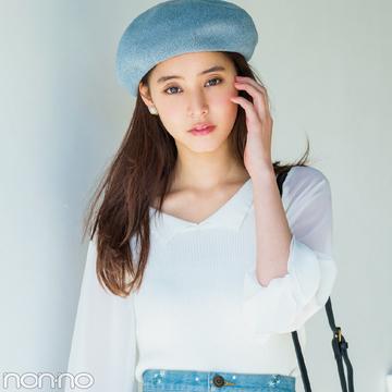 新木優子&馬場ふみかが着る! 甘すぎない白のシフォン&レーストップス9選