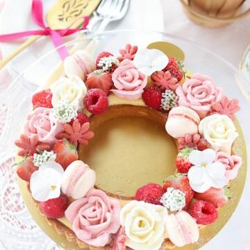 春のいちごケーキとお道具のお話