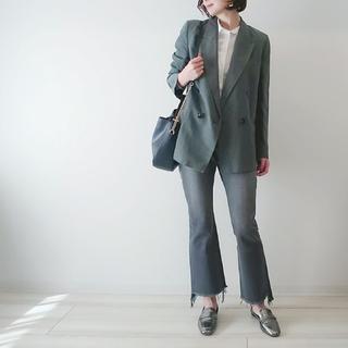 #ZARA のジャケットで春の大人ニュアンスカラーコーデ♡