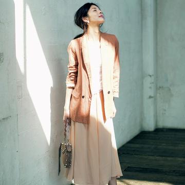 とろみ素材&プリーツスカートがあれば、品ありな女性らしさがかなう! 五選