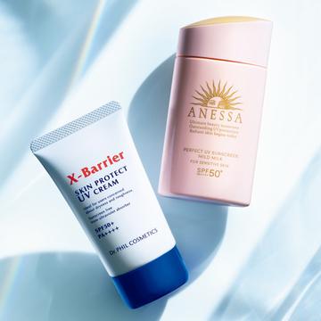 ゆらぎ期も肌を徹底ガードする「低刺激UV」2選【UVカットだけじゃない日焼け止め】