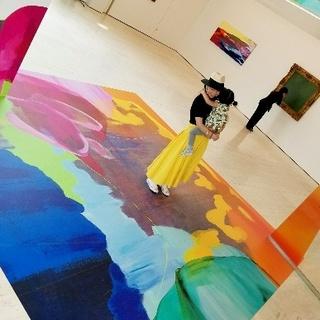 ゴールデンウィーク前半は箱根 ポーラ美術館で開催中の流麻二果さんの展覧会へ!