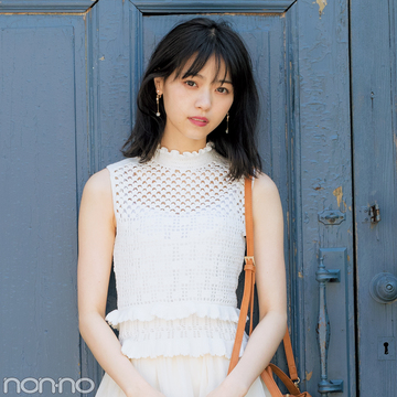 西野七瀬が着る♡ モテたい人のさわやか色ワンピ今夏のBEST3はコレ!