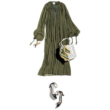 【洗練ナチュラルカラー服】ブーケ ドゥ リュンヌのチュニックドレス