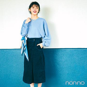 鈴木ゆうかの冬の推し服はきれい色スウェット! 最新3コーデはコチラ♡