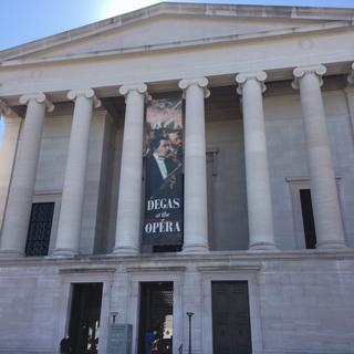 ワシントンのナショナルギャラリーへ。