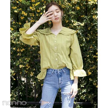 韓国ファッション2018夏♡ レトロなフリルブラウスコーデがイン!