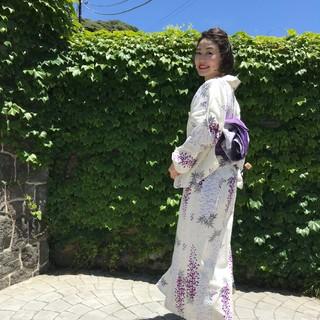 浴衣で鎌倉、古我邸ランチ