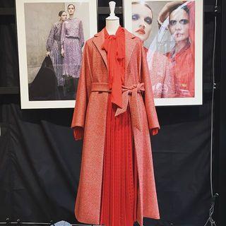 2018年秋冬ファッションはピンクに加え、赤も気になる!