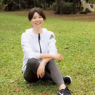 モデル五明祐子さん「30代より今のほうが元気。この先もずっと健康でいるために無理なく走り続けたい」【キレイになる活】