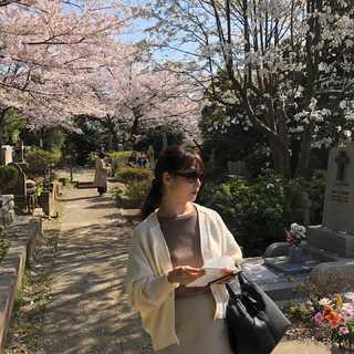 お花見アラフォーコーデ鉄板⁉︎ブラウン〜ベージュ