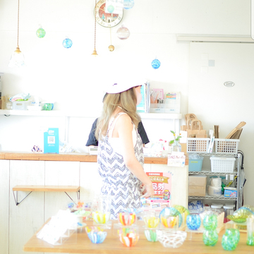 【さかぽんの冒険♪Vol.1】沖縄石垣島でガラス工房シーサー作り体験❤️