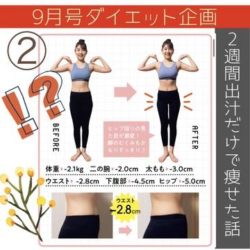 【ダイエット②】痩せたい人しか見ちゃダメよ!