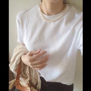 「白Tシャツ」こそ、こだわりたくて。